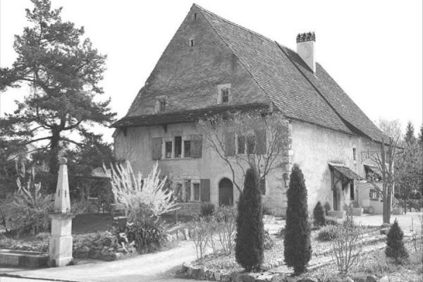Lutter — ancien tribunal de la seigneurie rurale du chapitre de Bâle.