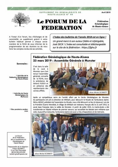 forum du n° 99